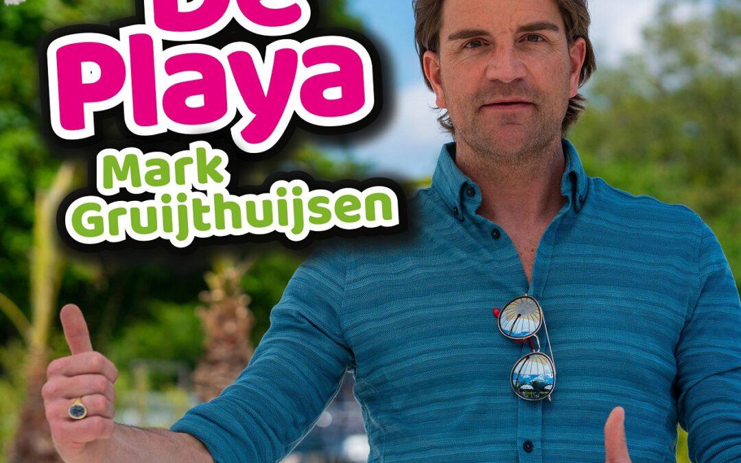 """Mark Gruijthuijsen komt met zomerse single  """"De Playa"""""""
